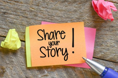 Inspire people by sharing your story