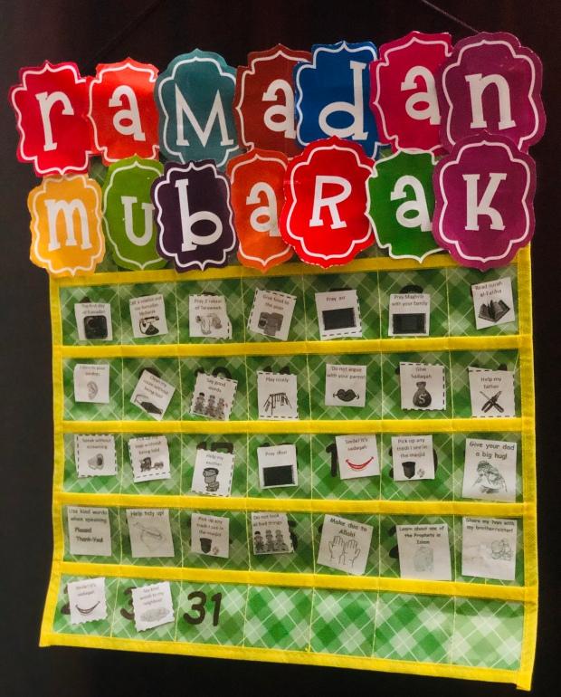 Ramadan Good Deeds Calendar